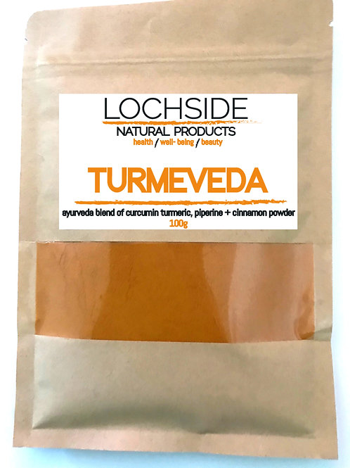 High Strength Turmeric Curcurmin and Piperine Black Pepper Powder with Cinnamon