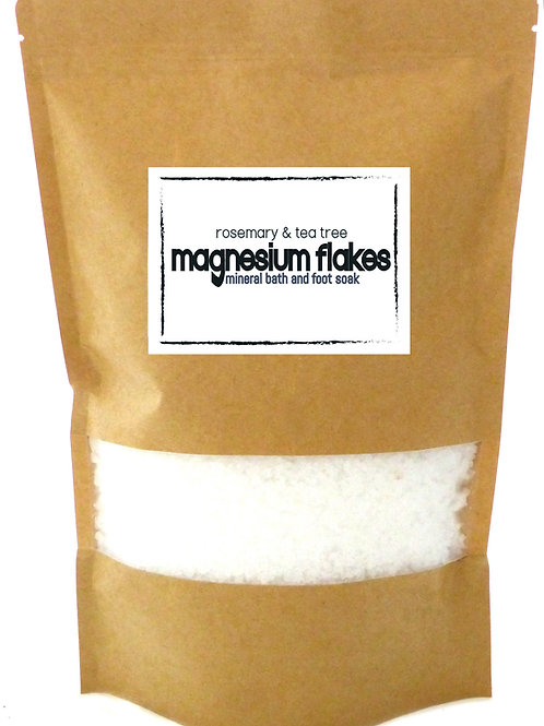 Rosemary & Tea Tree Magnesium Mineral Bath & Foot Soak