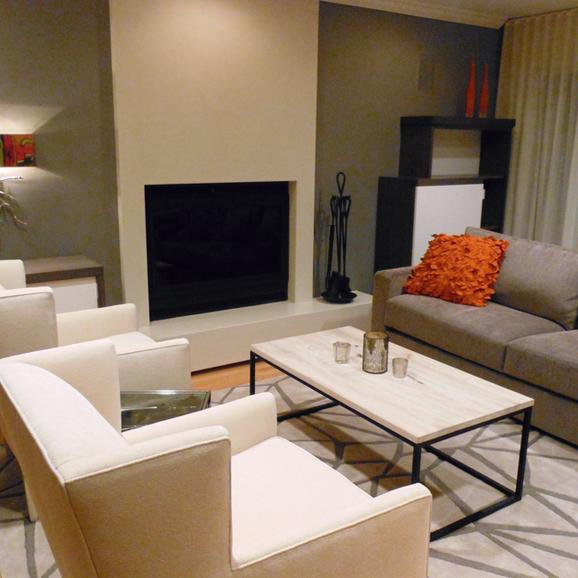 Adult living room for entertaining.