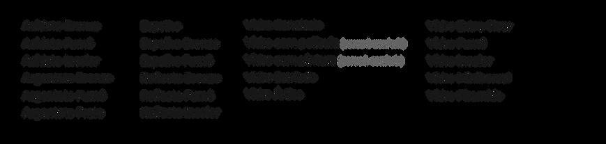 Porta divisor de ambientes (Linha Sottil