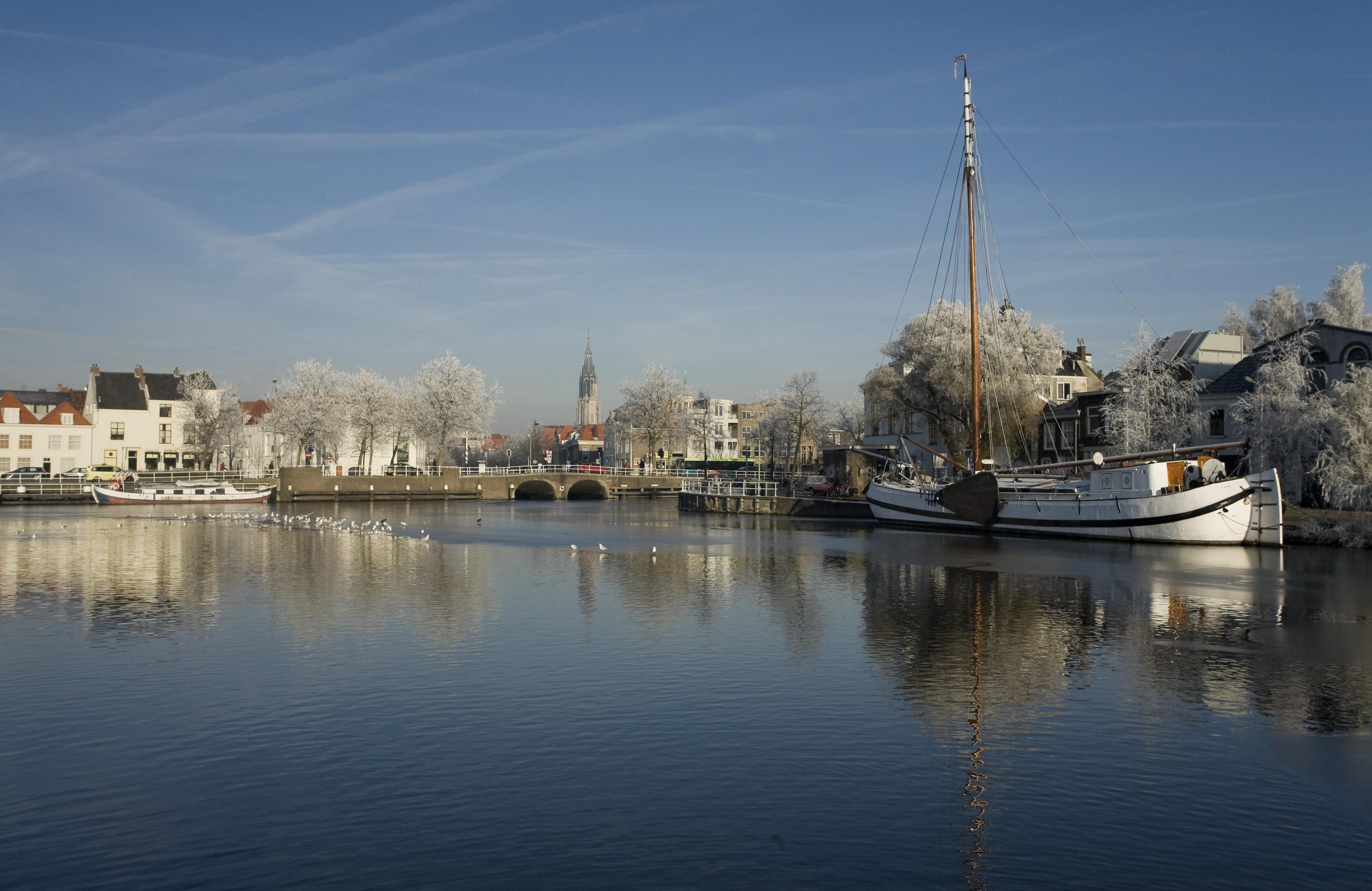 Delft View of Delft Winter