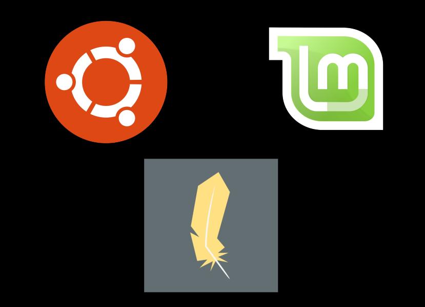 Logos distributions Linux.png