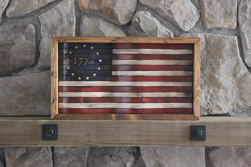 1776 BETSY ROSS WAVY FLAG
