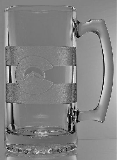 COLORADO ROCKY MOUNTAIN BEER MUG (26 oz.)