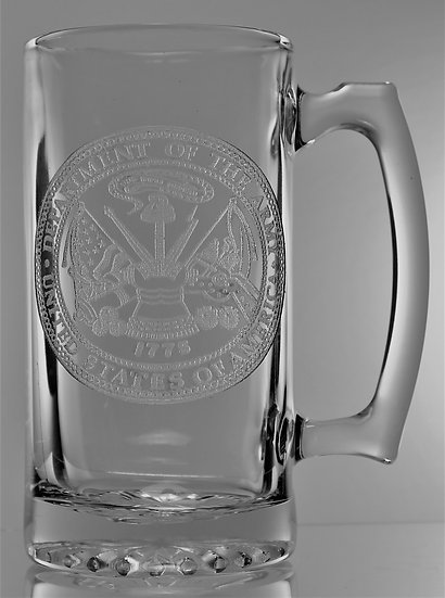 U.S. ARMY SEAL BEER MUG (26oz.)