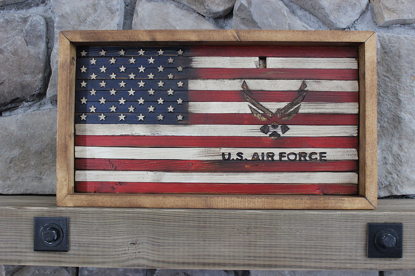 AMERICAN AIR FORCE FLAT FLAG