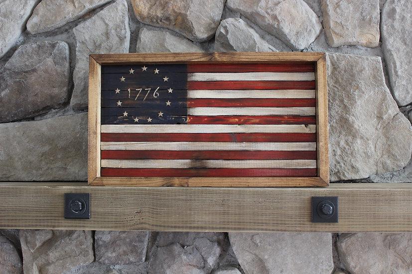 1776 BESTY ROSS FLAT FLAG