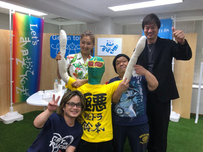 6月16日 記念すべき第1回目のゲストは、高知東生さん!