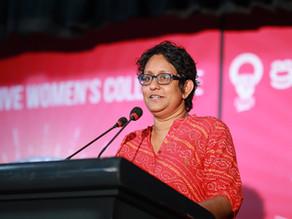 More women in politics are necessary to challenge patriarchal political culture, Harini Amarasuriya