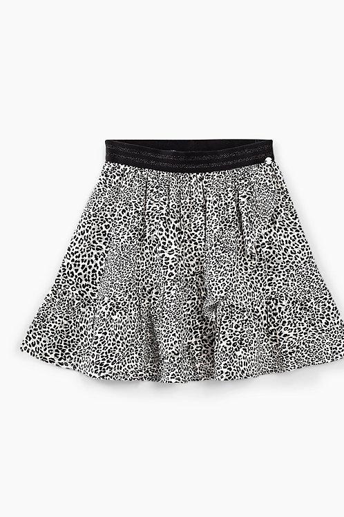 IKKS rok met luipaardprint