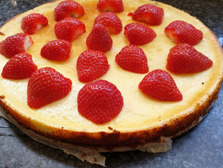 Koolhydraatarme cheesie cheesecake