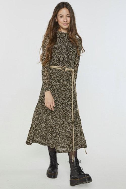 AI&KO Mirla leaf dress
