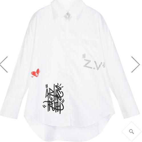 Zadig & Voltaire blouse dress meisjes