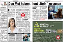 Kronen Zeitung, Claudia Nappi, Sandra Nemetschke, Interview, Kinderschutz, Corona, Nein sagen, Prävention, Selbstbehauptung, Mut, Stärke,