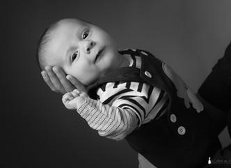 Une séance photo bébé au Studio