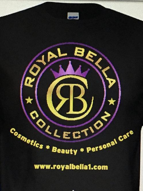 (Black) Royal Bella Collection T-Shirt (2X)