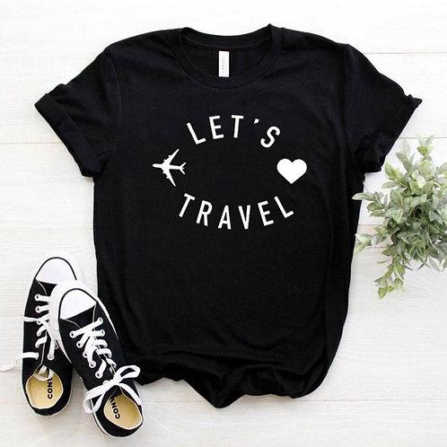 Let's Travel  - Traveler Adventure - Cotton Casual Women T-shirt