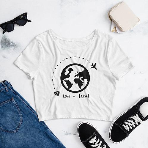 Women's Travel Crop Tee
