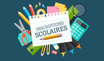 Inscriptions scolaires 2021-2022