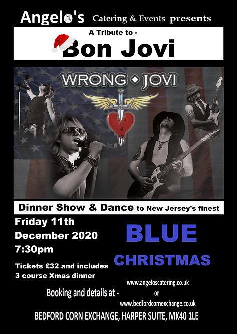 Blue Christmas - Wrong Jovi a Bon Jovi Tribute