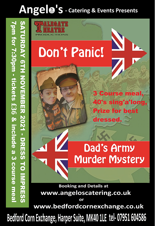 Don't panic - Dad's army Murder mystery-