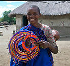 Maasai mother and child from A is for an African Adventure!