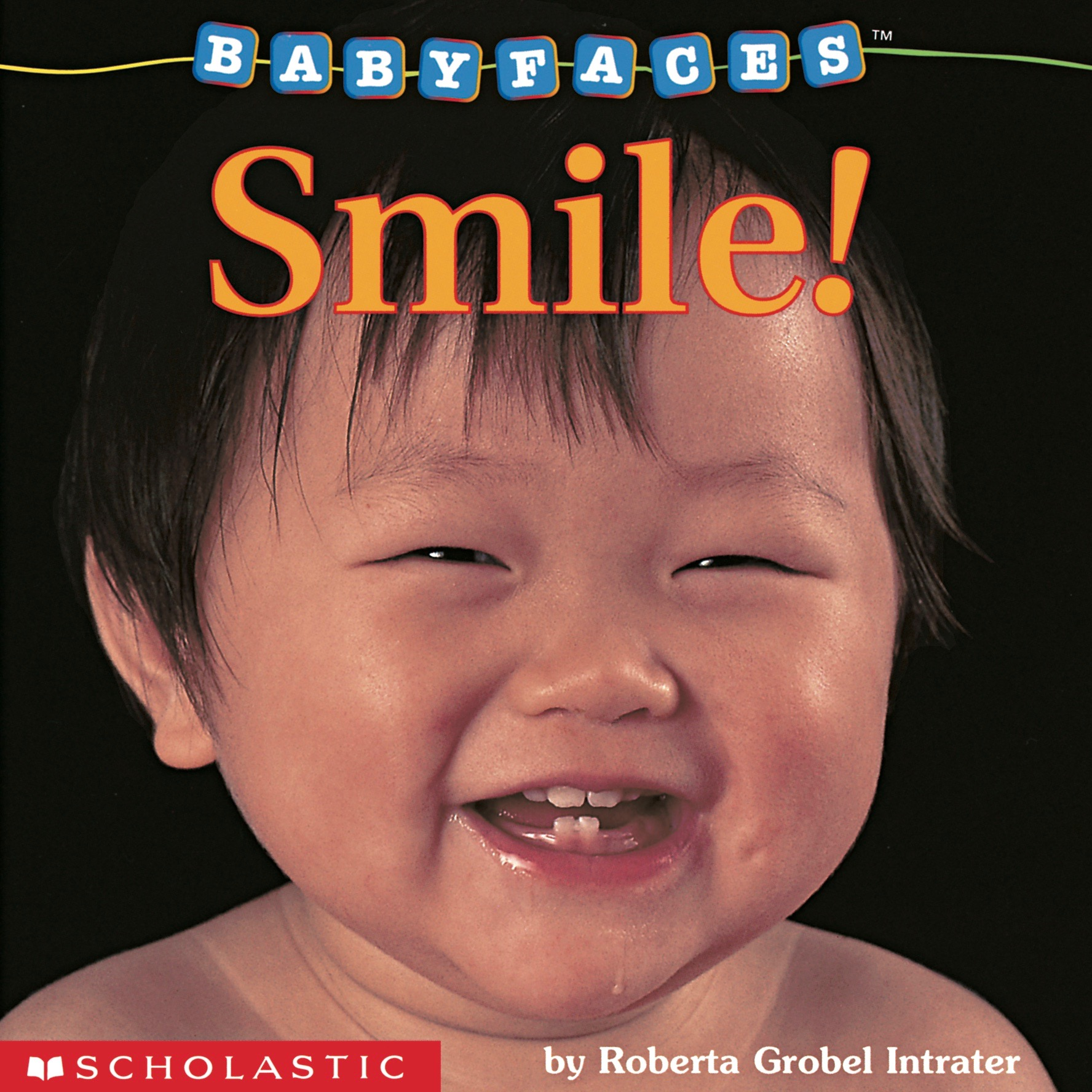 Smile! Baby Faces Board Book Cover