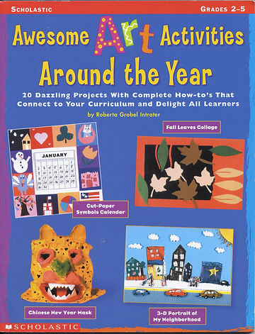 Art Activities Teaching Guide cover, original art projects for kids 8+,