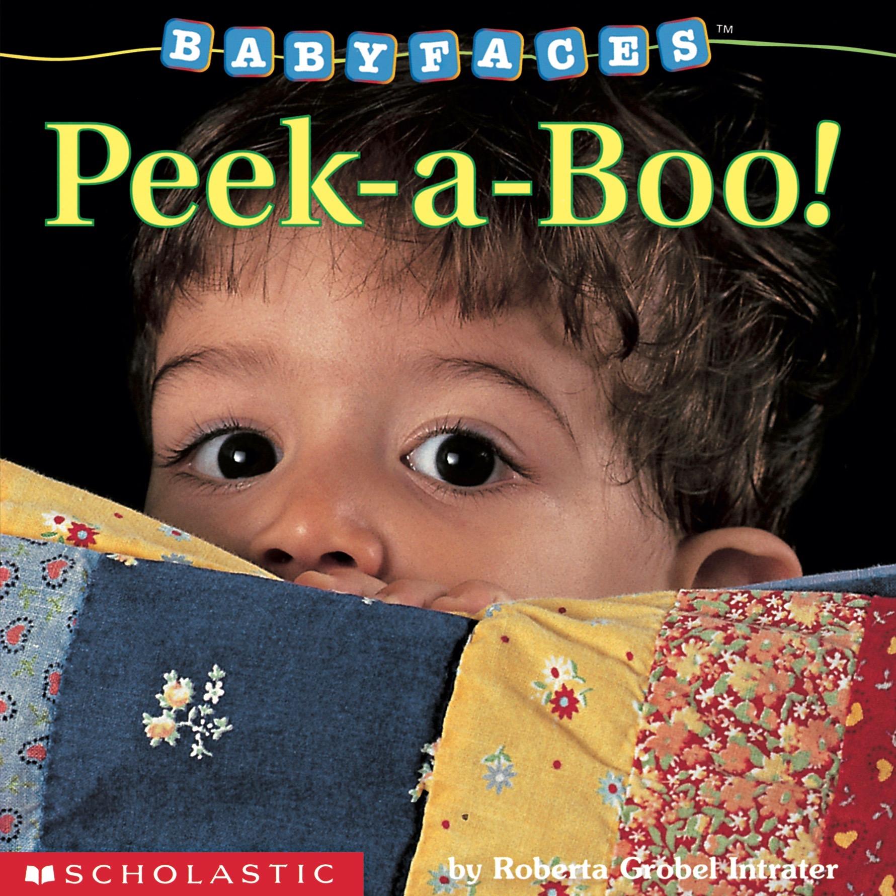 Peek-a-Boo! Baby Faces Board Book