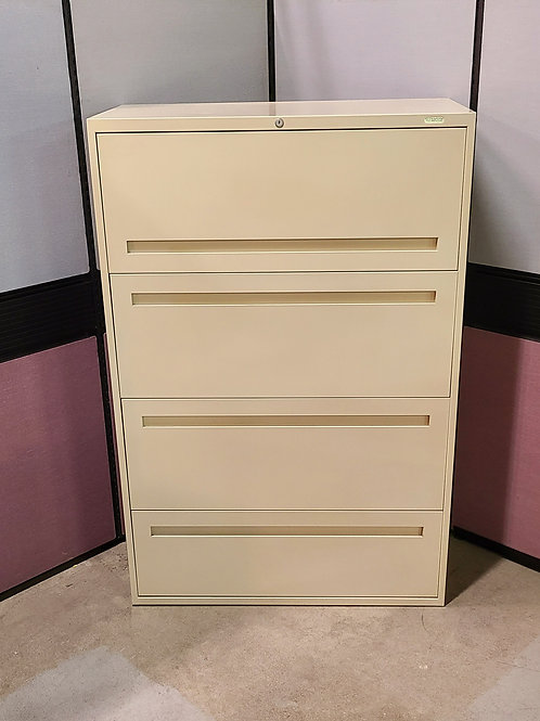 Teknion 4-drawer Lateral Filing Cabinet