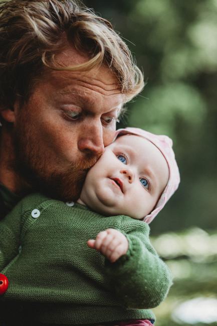 Familienfotos Papa Tochter