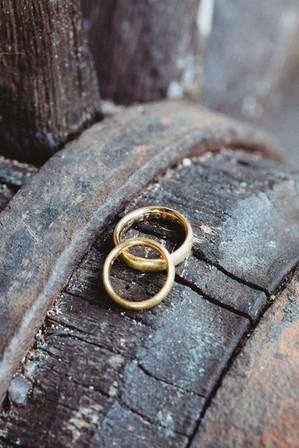 Hochzeitsfoto Detail Ringe