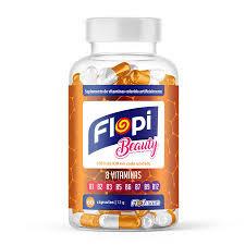 Suplemento Flopi Beauty Vitaminas Complexo B 60 un. Florestal
