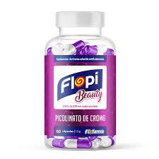 Suplemento Flopi Beauty Picolinato de Cromo 60 un.Florestal