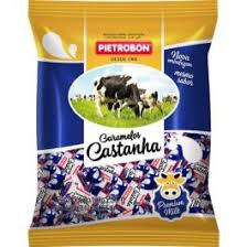 Bala Caramelo Castanha 250g Pietrobon