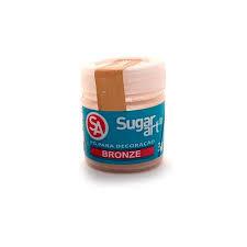 Pó para Decoração Bronze 3g Sugar Art