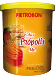 Bala Mel e Própolis Pote s/papel 200g Pietrobon