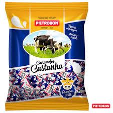 Bala Caramelo Castanha 600g Pietrobon