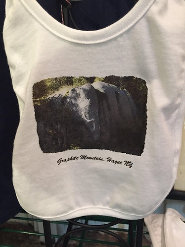 Graphite Mountain Elephant Bib