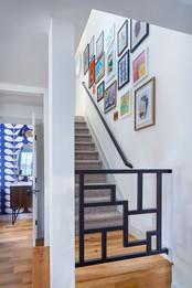 Kipling Street, staircase