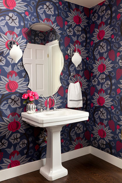 Hanover Way, powder room
