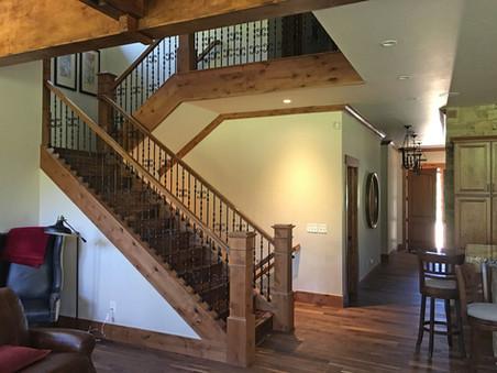 Elk Circle, staircase