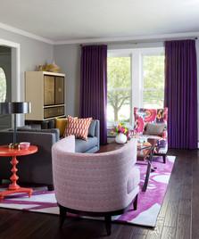 Hanover Way, living room