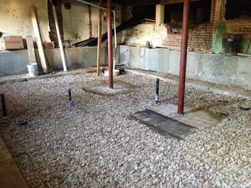 Grove, basement digout