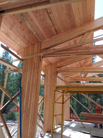 Elk Circle, construction