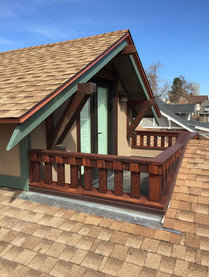 Grove, upper porch