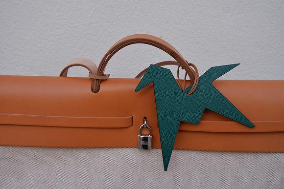 Charm Cheval Hermès vert/rouge