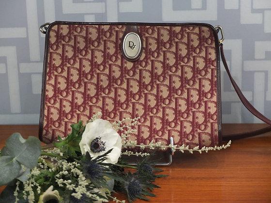 Sac à main Dior – Modèle vintage en toile oblique