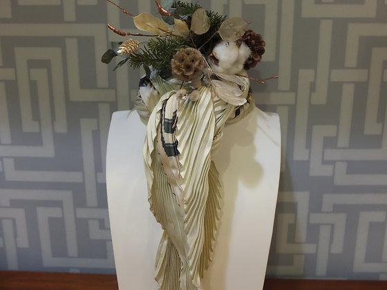 """Carré plissé Hermès - """"Brides de gala"""""""
