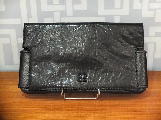 Pochette Givenchy en cuir noir